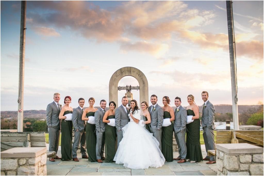 Joie & Nick : Turf Valley Wedding