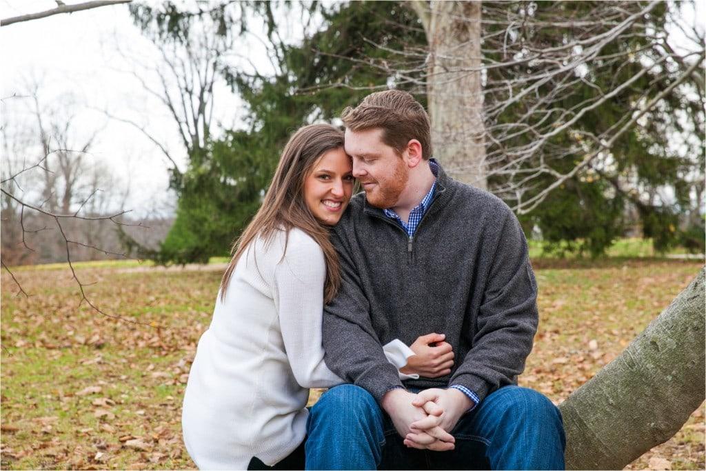 Hampton Mansion Engagement: Kristyn & Tim