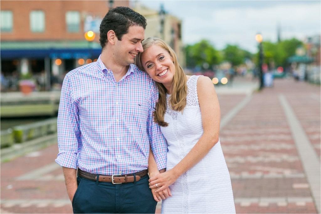 Fell Point Engagement : Abbey & Matt