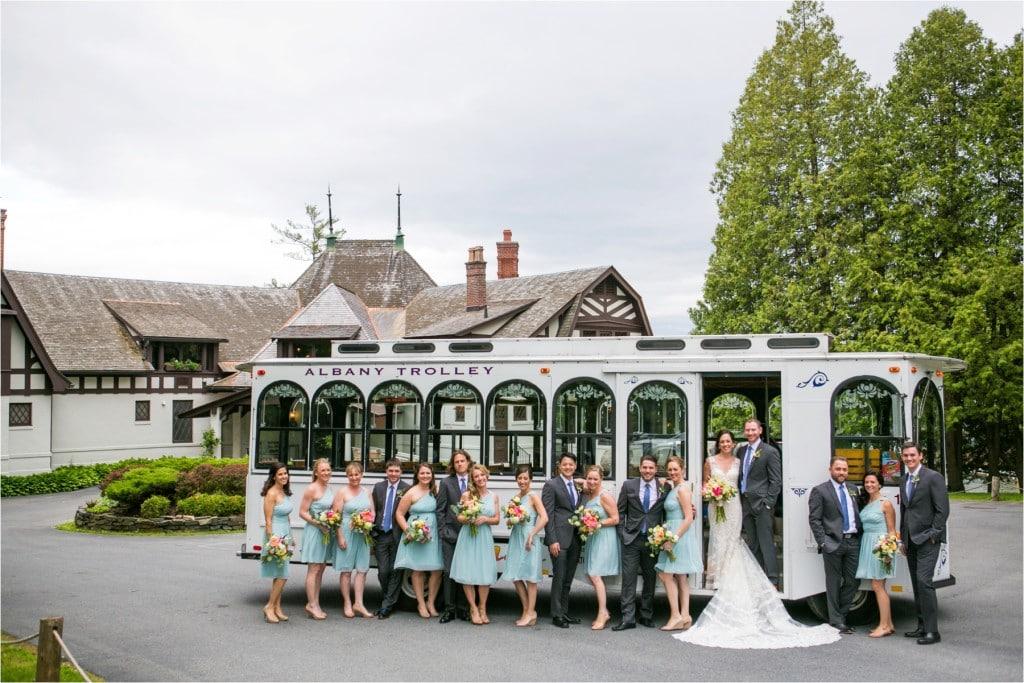 Lake George Club Wedding: Jess & Pete