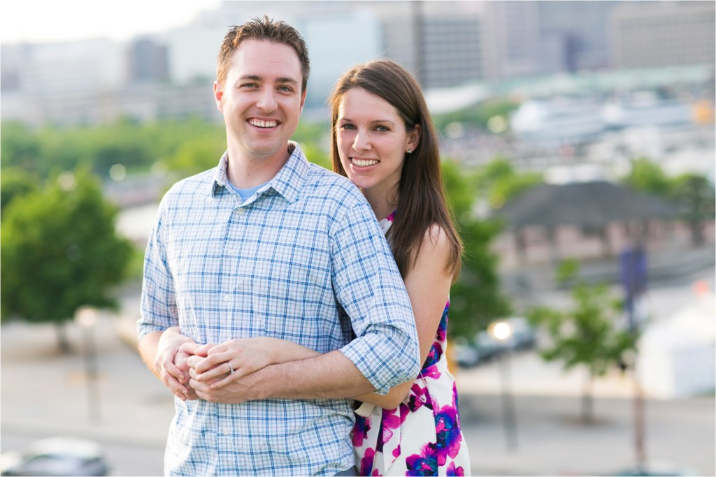 Federal Hill Engagement Photographer : Mary & Nolan