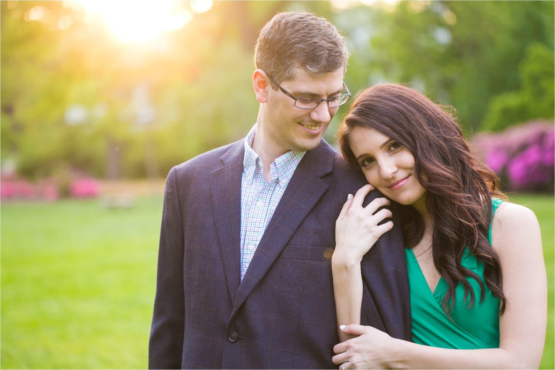 Sherwood Gardens Engagement : Amanda & Steve