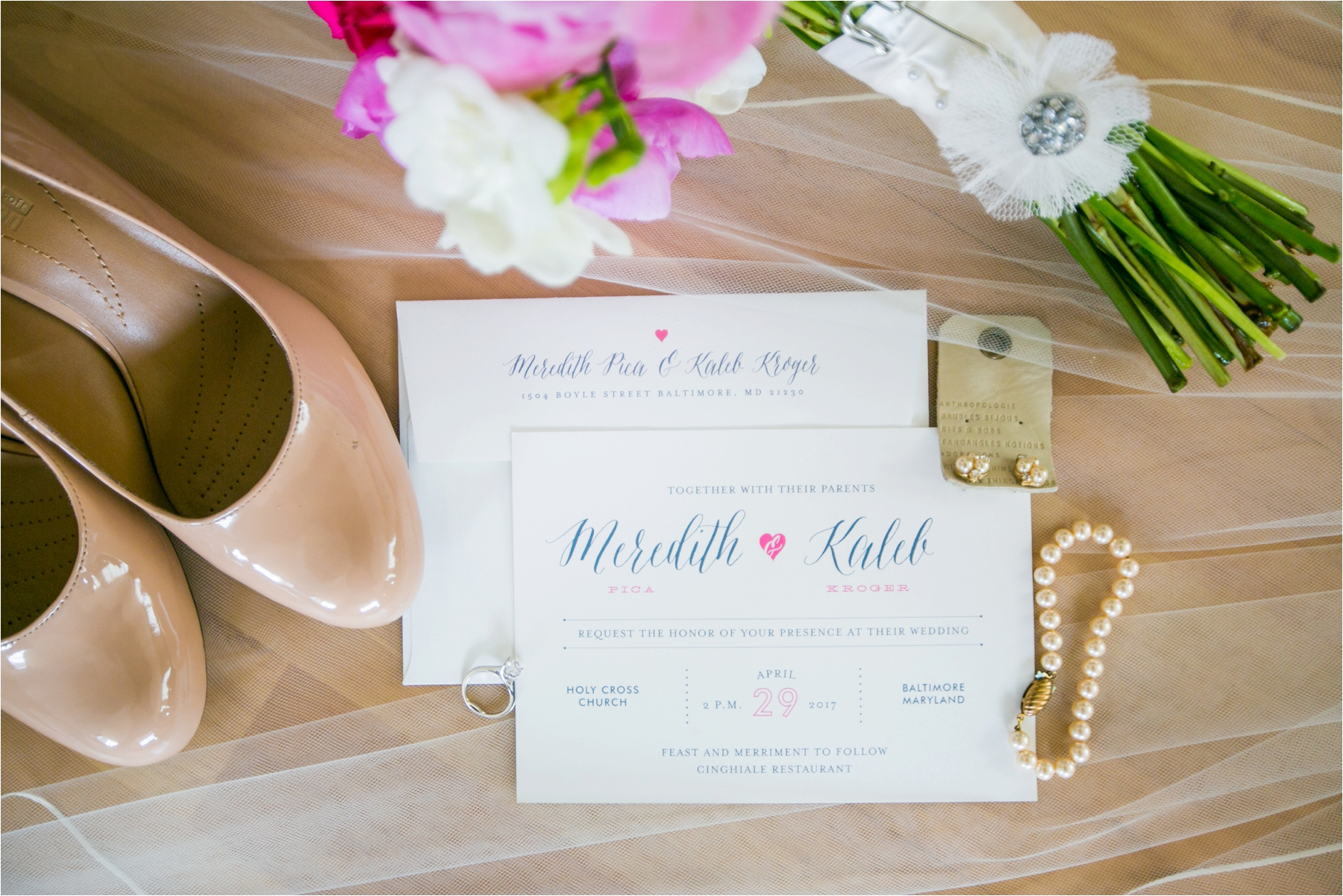 Intimate Baltimore Wedding : Meredith & Kaleb